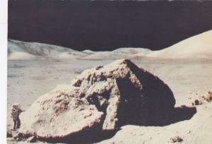 Lunar-module pilot Harrison H. Schmitt, Lunar Boulder, Taurus-Littrow site