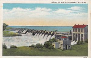 City Water Dam, Oklahoma City, Oklahoma, 1930-1940s