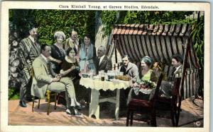 Hollywood CA Postcard Clara Kimball Young, at Garson Studios, Edendale c1920s