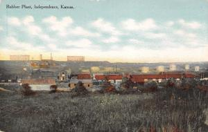 Independence Kansas~Standard Asphalt and Rubber Co Factory~Plant Panorama~1912