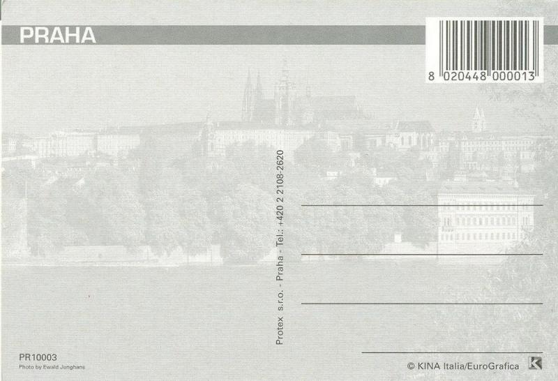 Czech Republic, Prague, praha, multi view, unused Postcard