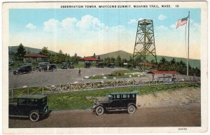 Mohawk Trail, Mass, Observation Tower, Whitcomb Summit