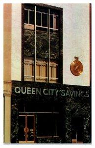 Queen City Savings and Loan Association, Plainfield, NJ Postcard *5Q(2)11