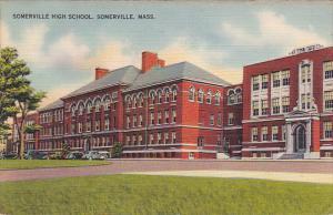 Massachusetts Somerville High School 1942
