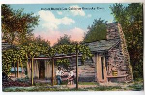 Daniel Boone's Cabin on KY River