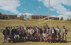 Overseas Students at University of New Brunswick , FREDERICTON , N.B. , Canad...