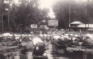 RP, Embarcadero, Xochimilco, Mexico, 1930-1950s