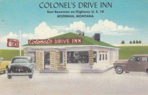 BOZEMAN , Montana, 30-40s ; Colonel's Drive-In Restaurant