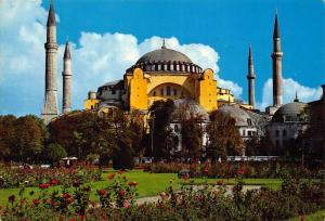 Turkey Istanbul ve Saheserleri St Sophia Museum Musee de St Sophie Postcard