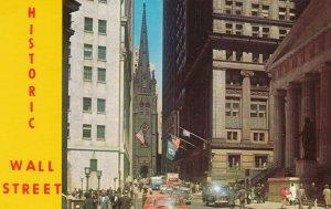 NEW YORK CITY, New York, 1950-60s ; Historic Wall Street
