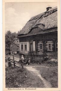 B82071 weberhauschen in waltersdorf types childrens  poland front/back image