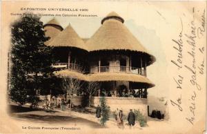CPA PARIS EXPO 1900 - Trocadéro La Guinée Francaise (308466)