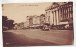 P751 very old cars main street northampton mass