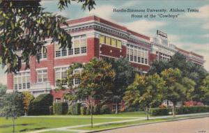 Texas Abilene Hardin-Simmons University Home Of The Cowboys 1946