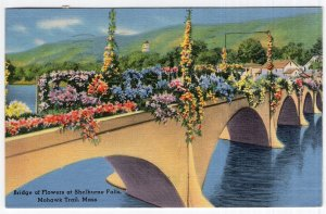 Mohawk Trail, Mass, Bridge of Flowers at Shelburne Falls