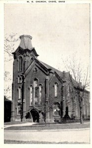 Cadiz, Ohio - The M.E Church - in the 1940s