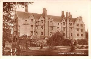 Cambridge United Kingdom, Great Britain, England Queen's College Cambridge Qu...