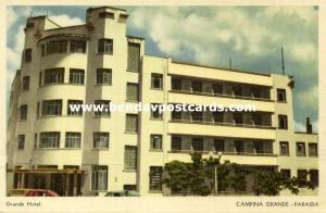 brazil, CAMPINA GRANDE, Paraiba, Grande Hotel (1950s)