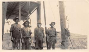 C31/ Occupational Worker Phillipines? RPPC Non-Postcard c1910 Work Crew Dirty 18
