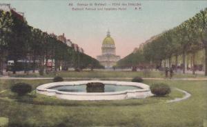 France Paris Avenue de Breteuil Hotel des Invalides