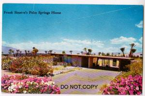 Home of Frank Sinatra, Palm Springs Ca