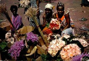 Senegal Marchandes de Fleurs Flower Girls 1982