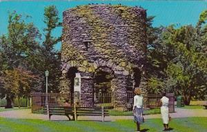 Famous Old Stone Mill Newport Rhode Island