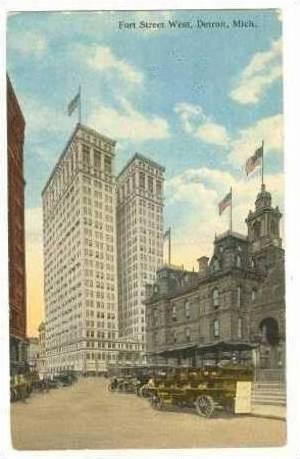 Hammond Bld,Dime Bank Bld & City Hall,Detroit,MI,00-10s