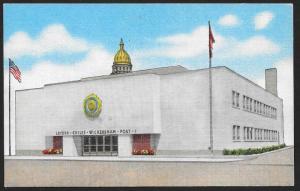 American Legion Memorial Home Post #1 Denver Colorado Unused c1940s
