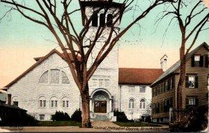 Massachusetts Brockton Central Methodist Church 1910
