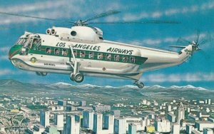 Los Angeles Airways' Copter Liner , California , 1960-70s