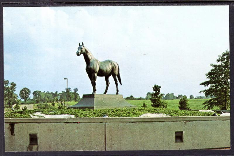 Man-O-War Monumnet,Kentucky Horse Park,Lexington,KY / HipPostcard