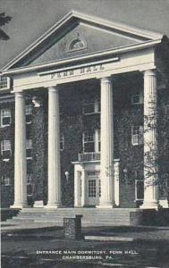 Pennsylvania Chamberburg Entrance Main Dormitory Penn Hall Artvue