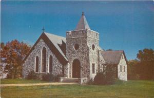 Tamassee South Carolina~D A R School~Edla Stannard Gibson Chapel~1950s Postcard