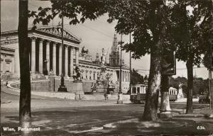 Wien Parlament Austria