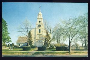 Long Island, New York/NY Postcard, First Presbyterian Church