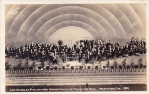 Real Photo Los Angeles Philharmonic Orchestra In The Hollywood Bowl Hollywood...