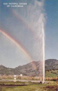 Old Faithful Geyser Of California,1940-1960s
