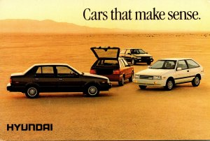 Hyundai Excel GL GLS and GS