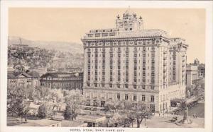 Hotel Utah Salt Lake City Utah