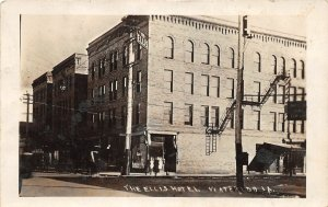 G24/ Waterloo Iowa RPPC Postcard 1912 The Ellis Hotel Building