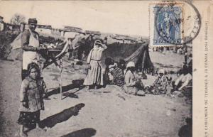 Un Campement de Tziganes a Zeitennik (pres Salonique) , Greece , PU-1917