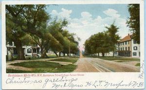 NH - Bethlehem, Bethlehem Street from Turner House
