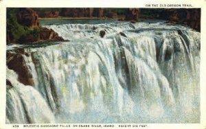 Majestic Shoshone Falls - Twin Falls, Idaho ID