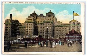 1927 Traymore Hotel, Atlantic City, NJ Postcard