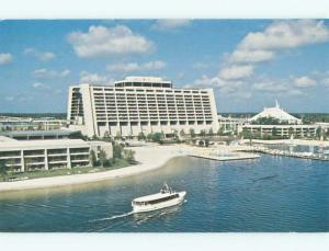 Unused Pre-1980 CONTEMPORARY RESORT HOTEL AT DISNEYWORLD Orlando FL p2716-22