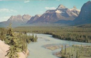 Canada Athabasca River Jasper National Park Alberta