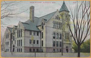 Kenosha, WIS., High School - 1909