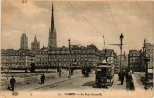 CPA ROUEN-Le Pont Corneille (348758)