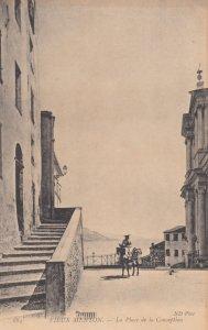 MENTON , France , 1900-10s : La Place de la Conception